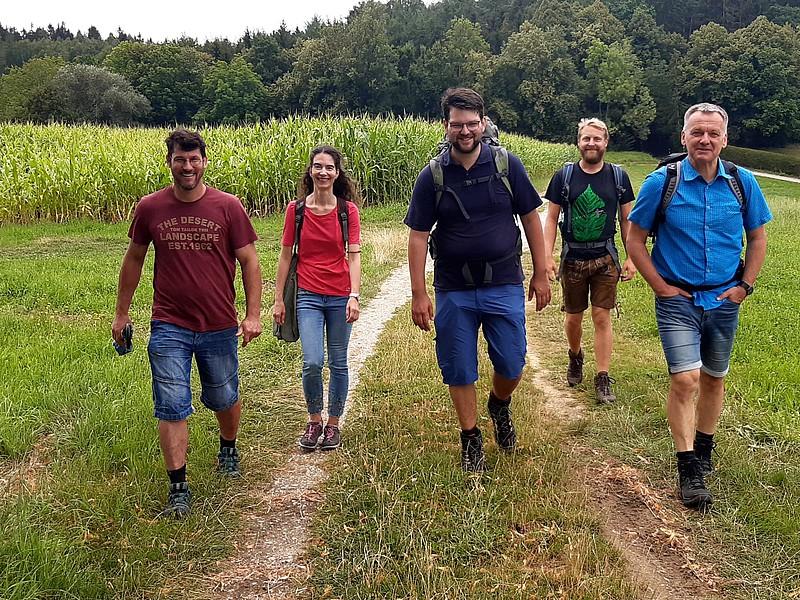 Schmankerl-Wanderung im Landkreis Erding