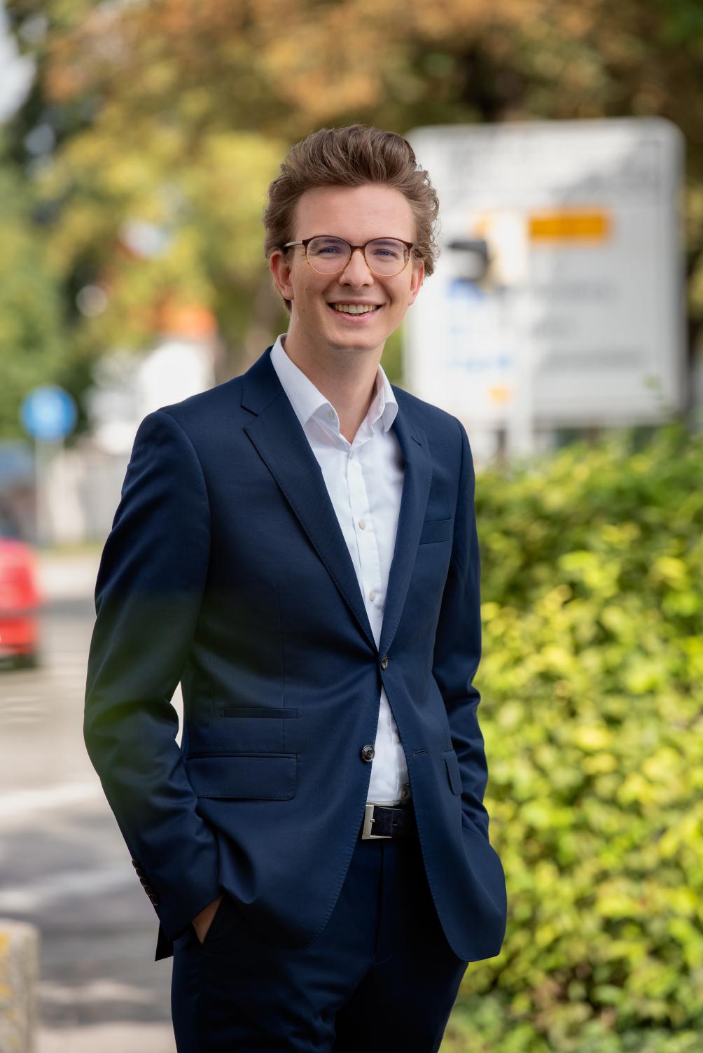 Leon Eckert zieht in den Bundestag ein
